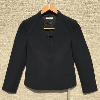 エポカ(EPOCA)の新品 EPOCA エポカ ジャケット 黒 ブラック 38(ノーカラージャケット)