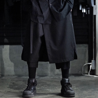 ヨウジヤマモト(Yohji Yamamoto)のGround Y ラップパンツ(サルエルパンツ)