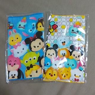 ディズニー(Disney)のディズニーツムツムミニタオル2枚セット(タオル/バス用品)
