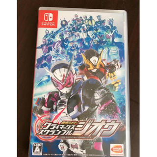Nintendo Switch - 【Switch】仮面ライダー クライマックススクランブル ジオウ