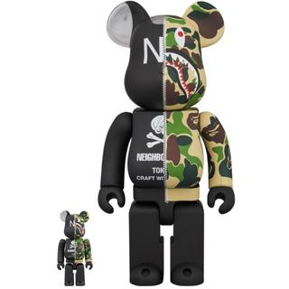 A BATHING APE - Bape x Neighborhood Be@rbrick 国内正規品
