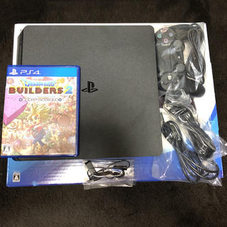 PlayStation4 - PS4本体+ドラクエビルダーズ2 セット