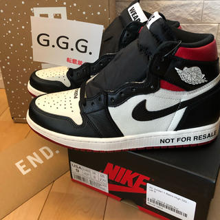 NIKE - 27.0 US9 AIR JORDAN 1 OG NOT FOR RESALE