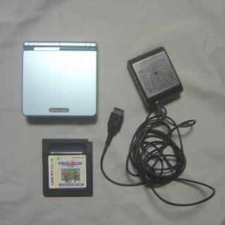 ゲームボーイアドバンス(ゲームボーイアドバンス)のGBA SP ゲームボーイ アドバンスSP 本体 ドラクエⅠ・Ⅱ(携帯用ゲーム本体)