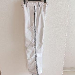 スパイダー(SPYDER)のUS スパイダー 白 スキー スノーボード 中綿 パンツ キッズ 140(ウエア)