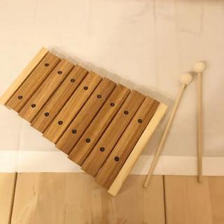 ムジルシリョウヒン(MUJI (無印良品))の美品 無印良品 木琴 おもちゃ(楽器のおもちゃ)