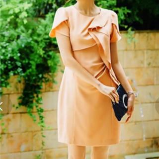 ガール(GIRL)の結婚式 お呼ばれ ワンピース 二次会 ピンク パーティー(ミディアムドレス)