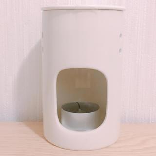 ムジルシリョウヒン(MUJI (無印良品))の無印良品アロマポット キャンドル11個とセット(アロマポット/アロマランプ/芳香器)