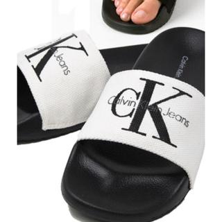 カルバンクライン(Calvin Klein)のカルバンクライン サンダル US9新品未使用(サンダル)