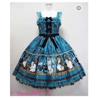 Angelic Pretty - 新品未使用★ Princess Cat グリーン jsk