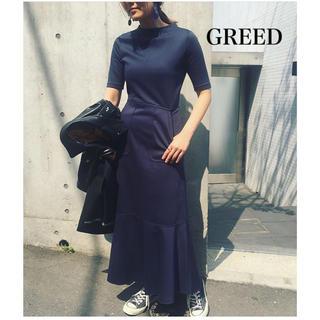 グリード(GREED)のGREED♡jane smith ヌキテパ united tokyo clane(ロングワンピース/マキシワンピース)