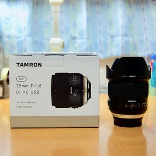 タムロン(TAMRON)のTAMRON SP 35mm F/1.8 Di VC USD Fマウント(レンズ(単焦点))
