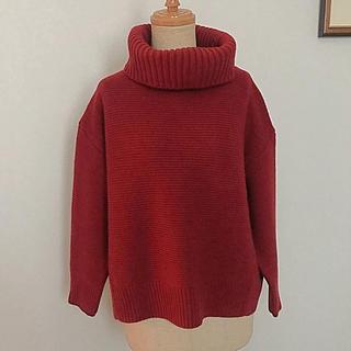 グローバルワーク(GLOBAL WORK)のグローバルワークの赤いセーター(ニット/セーター)