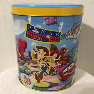 ディズニー(Disney)のディズニー.ピクサープレイタイム.缶箱.35周年(小物入れ)