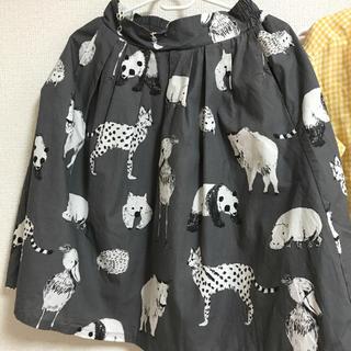 グラニフ(Design Tshirts Store graniph)のアニマル スカート(ひざ丈スカート)