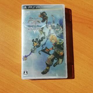 プレイステーションポータブル(PlayStation Portable)のPSP ソフト キングダム ハーツ バース バイ スリープ(携帯用ゲームソフト)