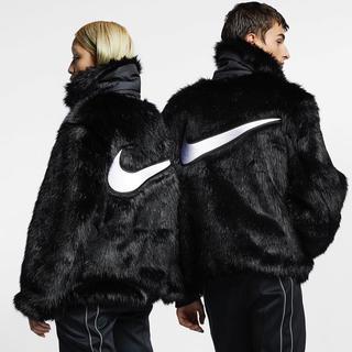 アンブッシュ(AMBUSH)の[M] Nike x Ambush NRG CA Jacket Black 黒(毛皮/ファーコート)