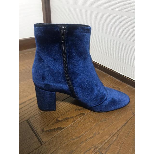 Odette e Odile(オデットエオディール)のodette e odile スエードショートブーツ レディースの靴/シューズ(ブーツ)の商品写真