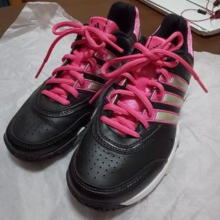 アディダス(adidas)の♥良品♥ adidas テニス用シューズ レディース(シューズ)