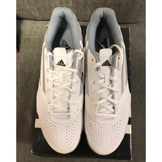 アディダス(adidas)のadidas adizero mana テニスシューズ 27.5cm 白(シューズ)