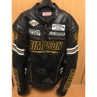 シンプソン(SIMPSON)のバイクジャケット(ライダースジャケット)
