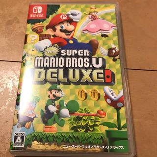 Nintendo Switch - NEWスーパーマリオブラザーズUデラックス 中古美品☆無言申請お断り!