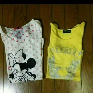 ディズニー(Disney)の三月のみ特価♪2枚セットTシャツ☆(Tシャツ(半袖/袖なし))