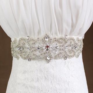 豪華 サッシュベルト クリスタルベルト ウェディング 結婚式 239