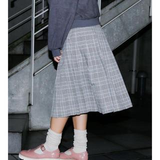 メリージェニー(merry jenny)のmerry jenny♡チェックプリーツスカート(ひざ丈スカート)