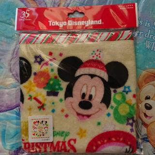ディズニー(Disney)のクリスマスウォッシュタオル(タオル/バス用品)