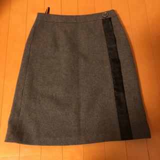 エヌナチュラルビューティーベーシック(N.Natural beauty basic)のタイトスカート(ひざ丈スカート)