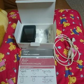 エヌティティドコモ(NTTdocomo)の美品  ポケットWi-Fi モバイルWi-Fi STATION L-01G (PC周辺機器)