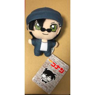 セガ(SEGA)の名探偵コナン キーチェーンマスコット ライ 赤井 新品タグ付き(キャラクターグッズ)