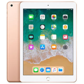 アイパッド(iPad)の【新品未開封】 iPad 128GB ゴールド Wi-Fi 第6世代 2018春(タブレット)