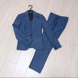 エヌナチュラルビューティーベーシック(N.Natural beauty basic)のW H I T E 購入♡パンツスーツ♡ウィンドーペン(スーツ)