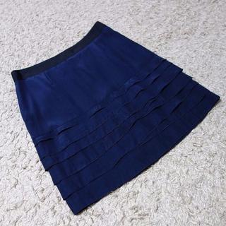 イネド(INED)のINED/ティアードスカート(ミニスカート)
