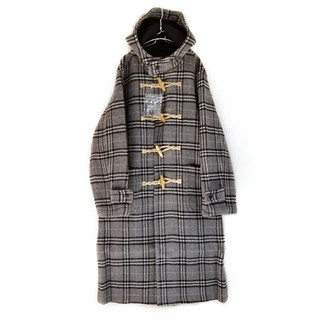 COMME des GARCONS - 総柄ノバチェック BURBERRYチェック ダッフルコート