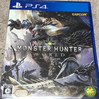 カプコン(CAPCOM)のMONSTER HUNTER WORLD PS4 中古品(家庭用ゲームソフト)