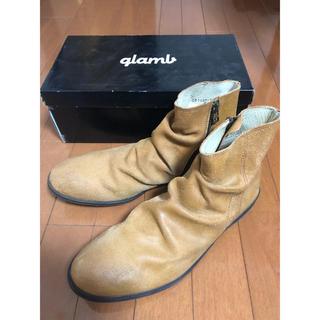 グラム(glamb)の【新品未使用】glambスウェードブーツ(ブーツ)