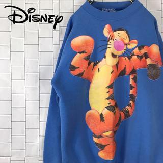 ディズニー(Disney)の【激レア】90s ディズニー ティガー トレーナー スウェット USA製(スウェット)