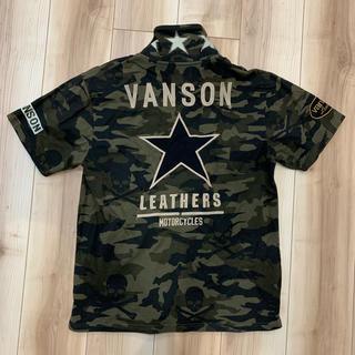 バンソン(VANSON)のVANSON 迷彩 シャツ (Tシャツ/カットソー(半袖/袖なし))