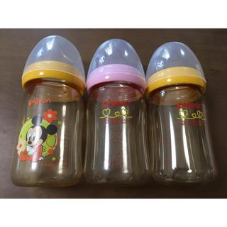 ピジョン(Pigeon)のPigeon 哺乳瓶 3本セット おまけ付き(哺乳ビン)