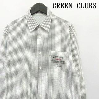 グリーンクラブ(GREEN CLUBS)のグリーンクラブ GREEN CLUBS シャツ カットソー トップス チェック柄(シャツ)