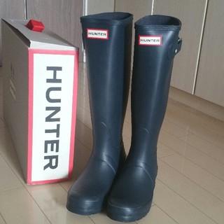 ハンター(HUNTER)の★新品★HUNTER★ハンター★レインブーツ★ネイビー★3★22㎝★(レインブーツ/長靴)