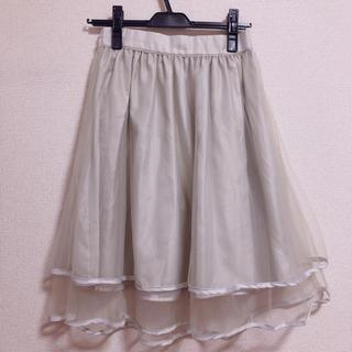 リズリサ(LIZ LISA)の【LIZLISA】チュールスカート(ひざ丈スカート)