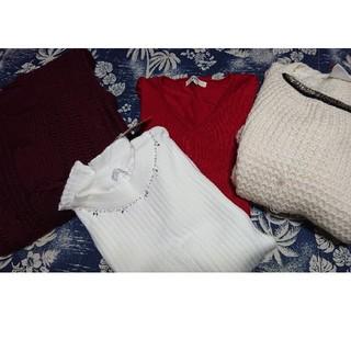 オゾック(OZOC)の冬物ニット・アウターまとめ売り(ニット/セーター)