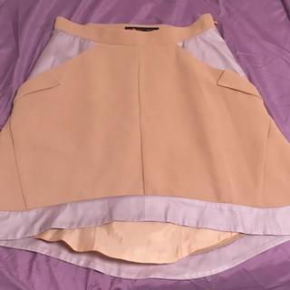 トゥーパーセントトウキョウ(2% TOKYO)の切り替えスカート (ミニスカート)