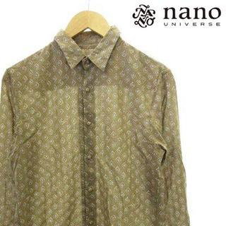 ナノユニバース(nano・universe)のナノユニバース nano universe シャツ 長袖 総柄(シャツ)