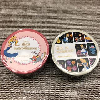 ディズニー(Disney)のふしぎの国のアリス×AfternoonTea マスキングテープ 2個セット(テープ/マスキングテープ)