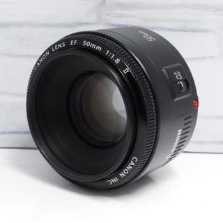 キヤノン(Canon)の【神レンズ】単焦点レンズ Canon用 50mm f1.8 (レンズ(単焦点))
